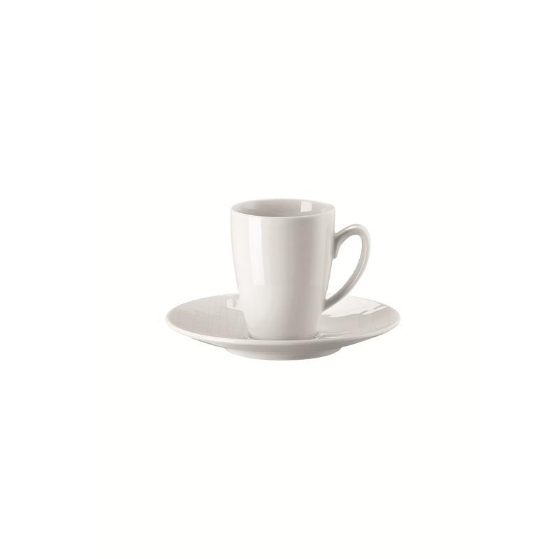 Rosenthal Mesh Weiss Espressotasse 2-tlg. Mokkatasse 0,08 ltr.