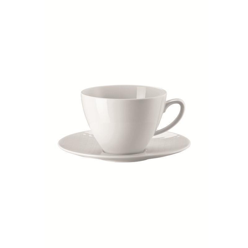 Rosenthal Mesh Weiss Kombitasse 2-tlg. Kaffeetasse Tasse 0,29 ltr.