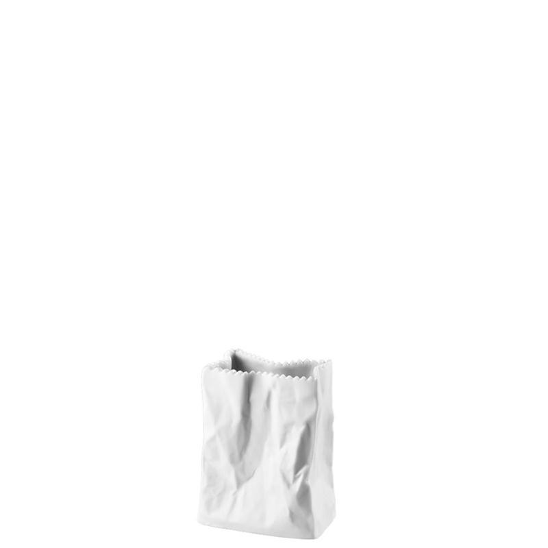 Rosenthal Do not litter Vase Tütenvase 10cm