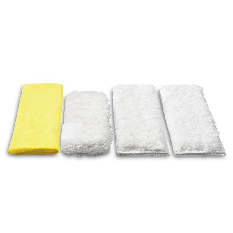 Kärcher Mikrofaser-Tuchset Küche 2.863-172.0 f.Dampfreiniger Bodentuch +andere