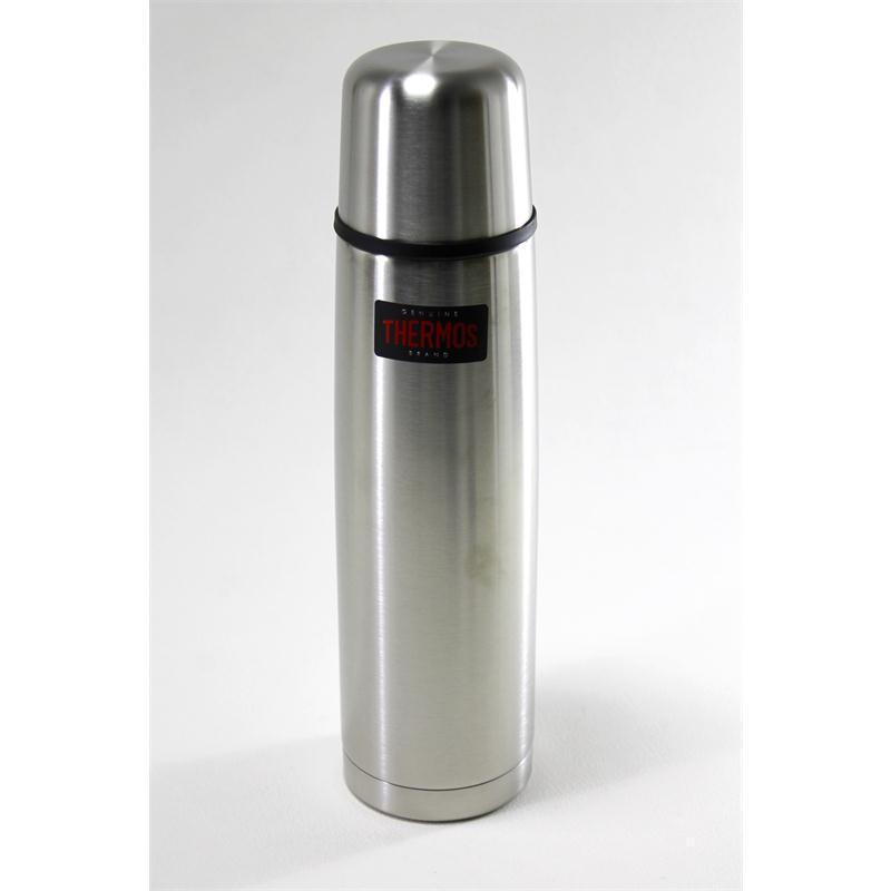 thermos isolierflasche light compact steel matt 1 liter. Black Bedroom Furniture Sets. Home Design Ideas