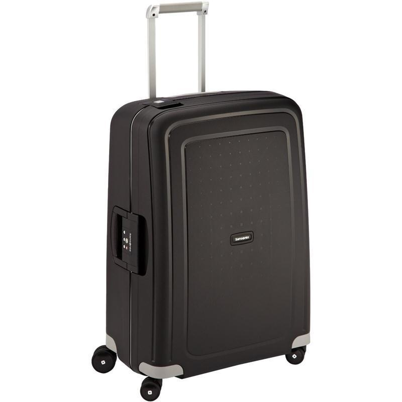 samsonite s 39 cure trolley 69 schwarz 4 rollen spinner. Black Bedroom Furniture Sets. Home Design Ideas