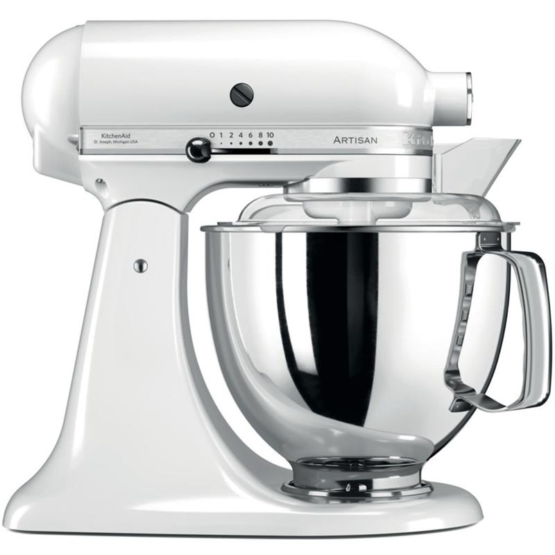 kitchenaid artisan k chenmaschine 5ksm175psewh wei. Black Bedroom Furniture Sets. Home Design Ideas