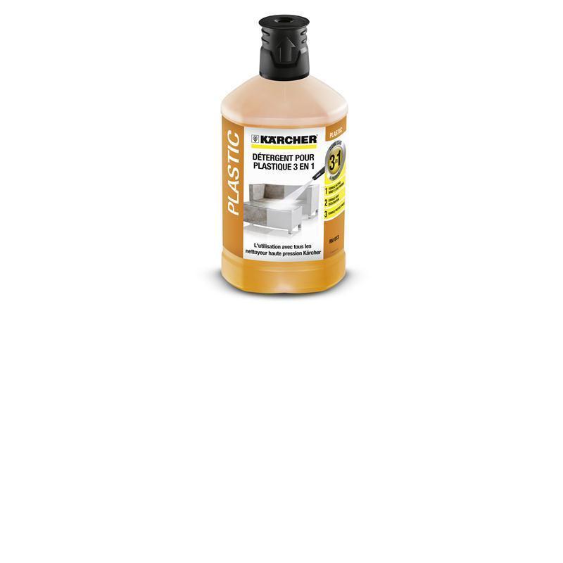 Kärcher Kunststoffreiniger 3-in-1, 1 ltr. 6.295-758.0 für Hochdruckreiniger