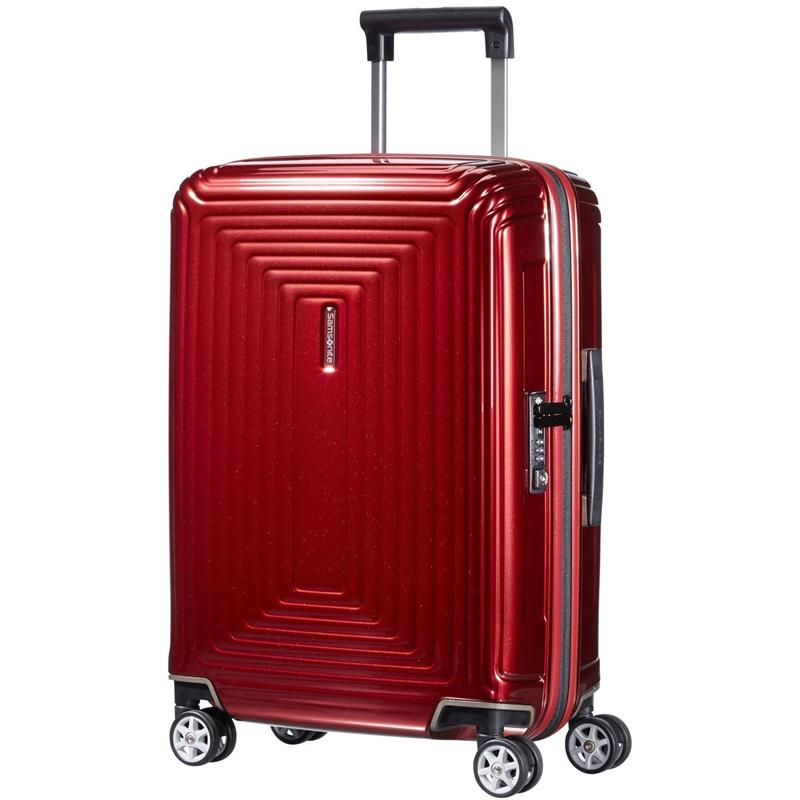 samsonite neopulse spinner 55 20 metallic red. Black Bedroom Furniture Sets. Home Design Ideas