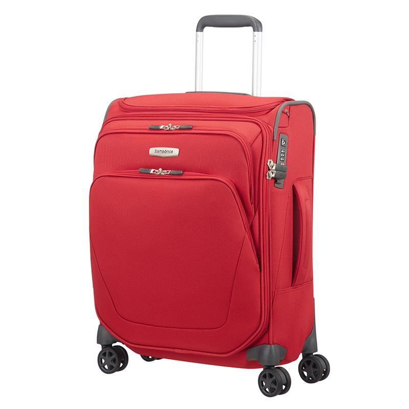 samsonite spark sng spinner 55 cm trolley toppocket red. Black Bedroom Furniture Sets. Home Design Ideas