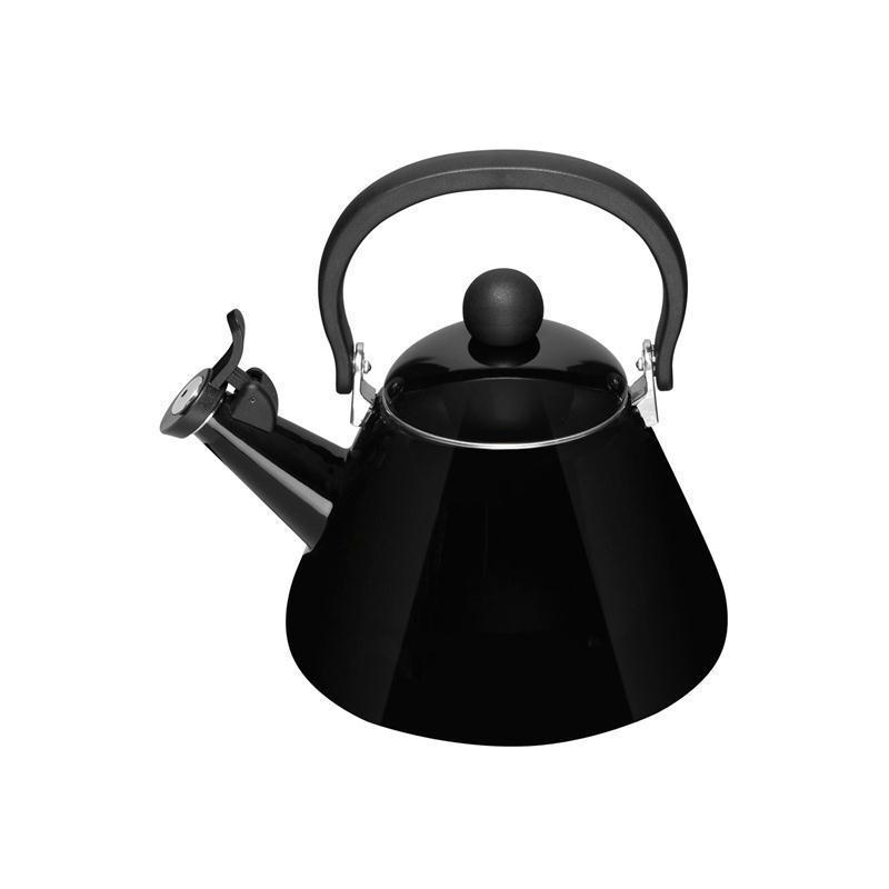Le Creuset Wasserkessel Kone schwarz 1,6 ltr.