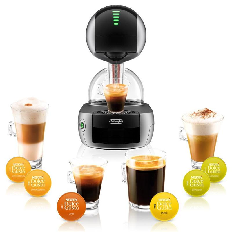 delonghi dolce gusto nescaf stelia kaffee kapselmaschine silber edg 635 s. Black Bedroom Furniture Sets. Home Design Ideas