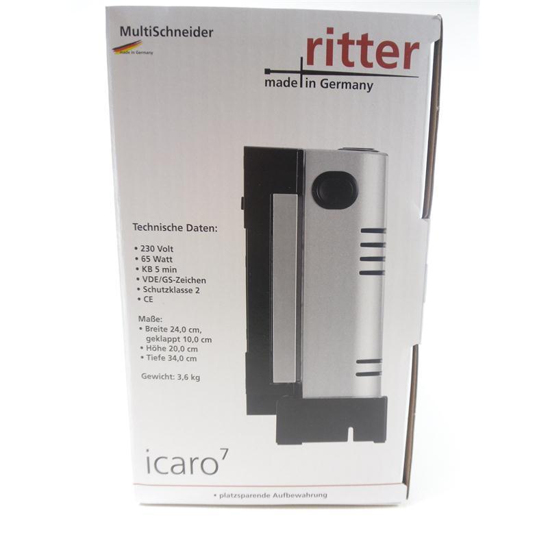 Ritter Icaro 7 Allesschneider klappbar Metall