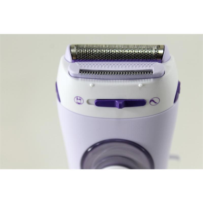 Braun Silk epil Lady Shaver Rasierer LS5560 Damenrasierer LS 5560 Peeling Aufs.