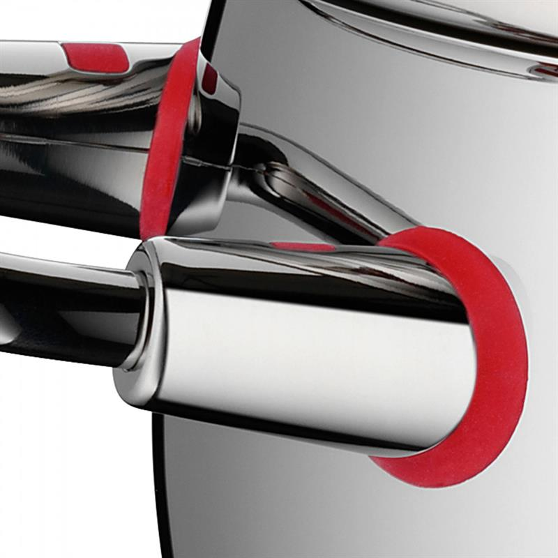 WMF Quality One Topfset 4 tlg. Cool+ Griffe Induktion Glasdeckel Kaltgriffe