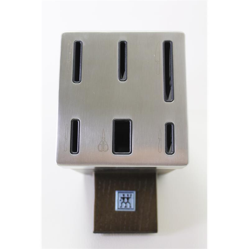 zwilling vier sterne messerblock 7 tlg mit kis technologie 35145 000 sharpblock ebay. Black Bedroom Furniture Sets. Home Design Ideas